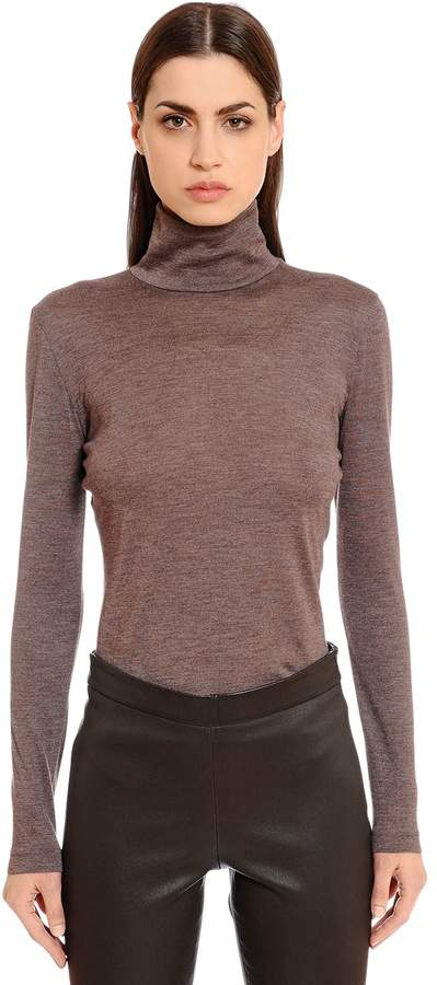 Akris Cashmere & Silk Knit Sweater