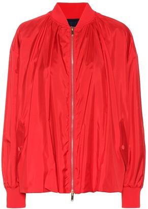 Valentino Silk bomber jacket