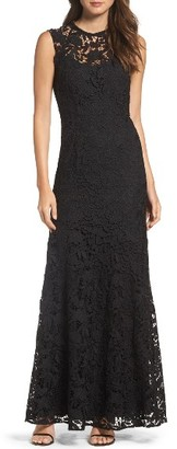 Women's Soshanna Lace Gown $625 thestylecure.com