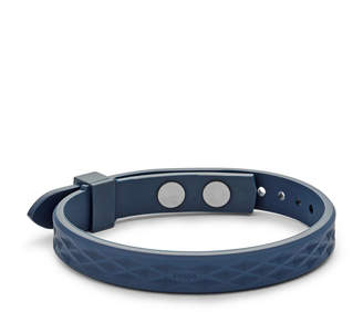 Fossil Vintage Casual Blue Polyurethane Bracelet