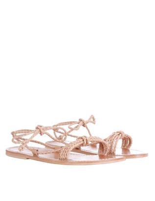 Zimmermann Woven Braid Sandal