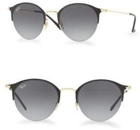 Ray-Ban Gradient Round Sunglasses