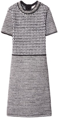 Tory Burch EMBELLISHED TWEED DRESS