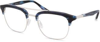 Barton Perreira Men's Lenox Half-Rim Titanium Optical Frames