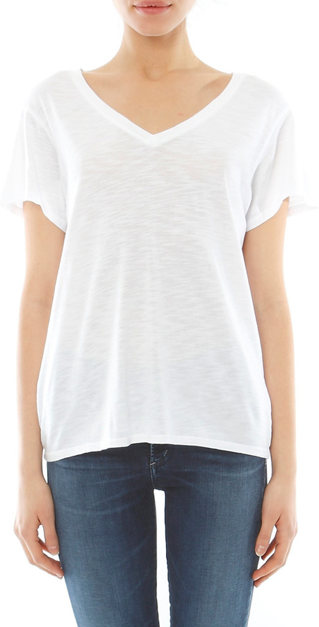Feel The Piece Champion V Neck Tee