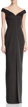 BCBGMAXAZRIA Off-the-Shoulder Gown - 100% Exclusive