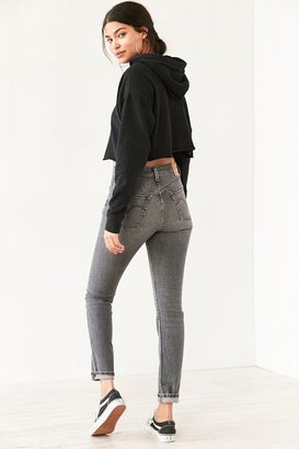 Levi's 501 Skinny Jean - Washed Black $98 thestylecure.com