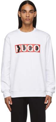 HUGO White Liam Payne Edition Dicago Sweatshirt