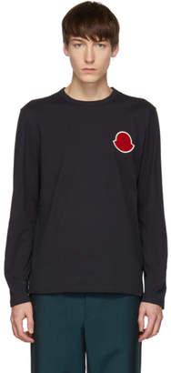 Moncler Navy Maglia Bell Long Sleeve T-Shirt