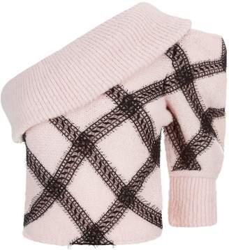 Philosophy di Lorenzo Serafini One Shoulder Sweater