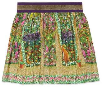 Gucci Baby Canvas Menagerie skirt