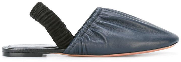 CelineCéline slingback slippers