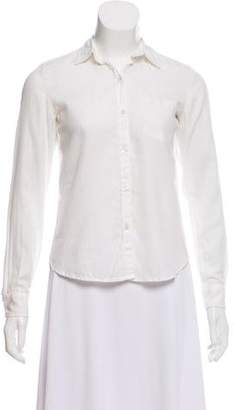 Steven Alan Long Sleeve Button-Up Blouse
