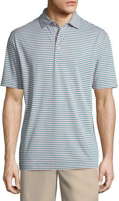 Peter Millar Tygra Striped Jersey Polo Shirt