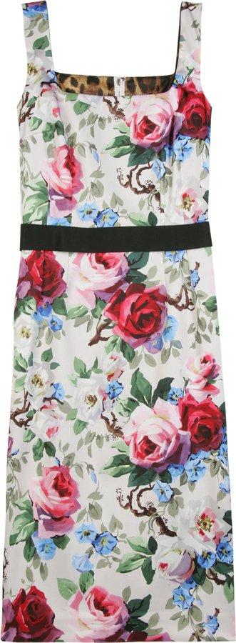 Dolce & Gabbana Floarl Print Dress