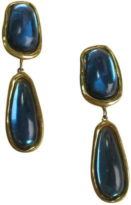Jean Louis Scherrer Jean-louis Scherrer Gold Metal Earrings