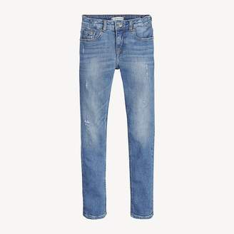 Tommy Hilfiger Nora Distressed Skinny Fit Jeans