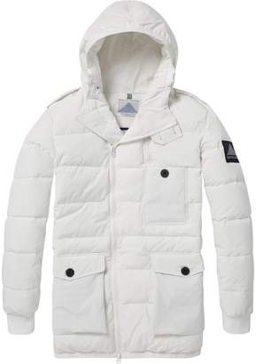 Scotch & Soda Long Down Jacket