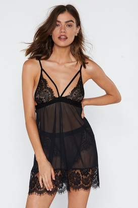 d578c4c3173df Nasty Gal Alive at Night Lace Nightie