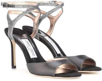 Jimmy Choo Helen 85 peep-toe sandals