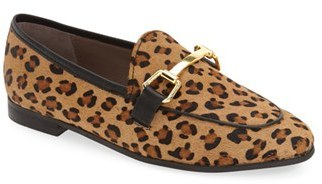 Topshop Women's Topshop 'Kendall' Genuine Calf Hair Loafer