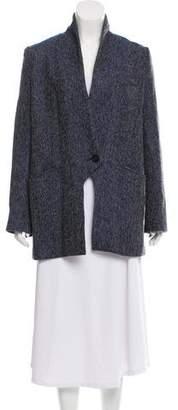 Marissa Webb Tweed Wool Coat
