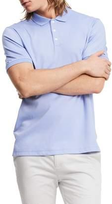 Calvin Klein Men's Short Sleeve 2 Button Liq Polo
