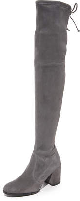 Stuart Weitzman Tieland Over the Knee Boots $798 thestylecure.com