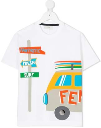 Fendi trip print T-shirt