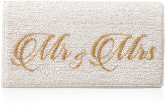Preciously Paris Mr & Mrs Handmade Clutch