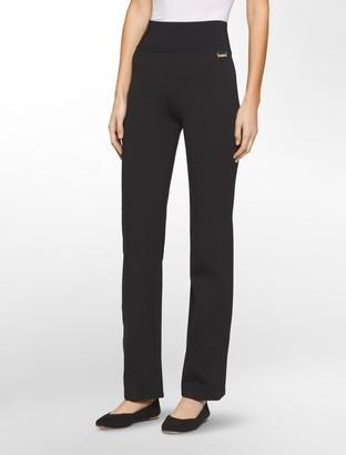 Calvin Klein power stretch wide waistband leggings