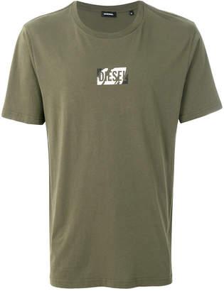 Diesel graphic logo T-shirt