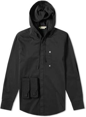 1017 Alyx 9sm 1017 ALYX 9SM Hooded Button Up Shirt