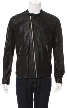 BLK DNM Distressed Suede Jacket w/ Tags