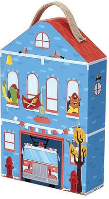 Toysmith Krooom Captain Furrys Fire Station Playset