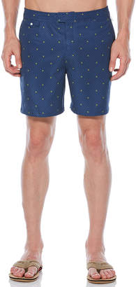 Original Penguin POLKA DOT LEMON VOLLEY SWIM SHORT