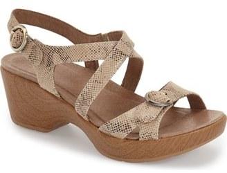 Dansko 'Julie' Platform Sandal (Women) $129.95 thestylecure.com