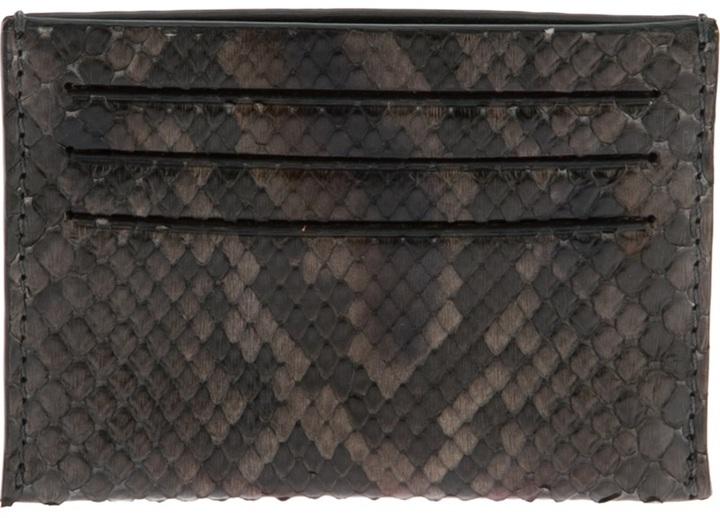 Givenchy python card wallet