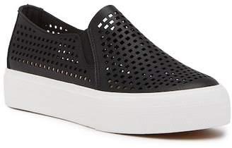 Restricted Vanness Laser-Cut Slip-On Flatform Sneaker