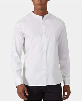 Kenneth Cole New York Men Regular-Fit Stretch Diamond Dobby Shirt