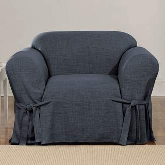 Sure Fit Textured Linen Chair Slipcover