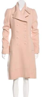 Alexander McQueen Structured Cashmere Coat