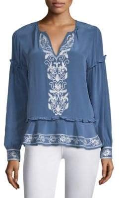 Parker Sawyer Peasant Blouse