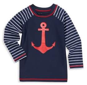 Hatley Toddler's, Little Boy's& Boy's Sea Anchors Long Sleeve Rash Guard