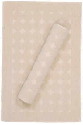 Linum Home Sinemis Circle Design 2-Pc. Bath Mat Set Bedding