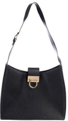 56603338c0 Salvatore Ferragamo Black Hobo Bags - ShopStyle