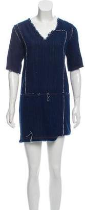 Maiyet Denim Mini Dress