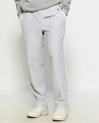 Melange Home Off White X Champion Grey Sweatpants