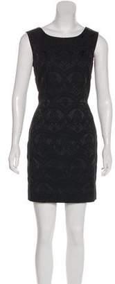 Dolce & Gabbana Satin Damask Dress