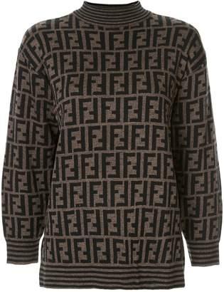 Fendi Pre-Owned knitted monogram jumper
